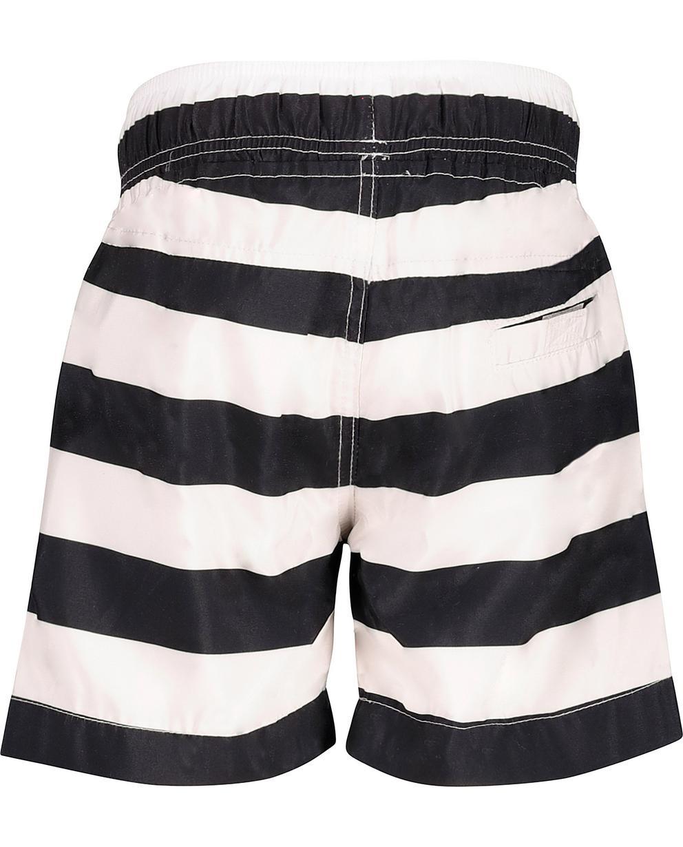 Short de natation rayé noir et blanc JBC  0c1f112287d